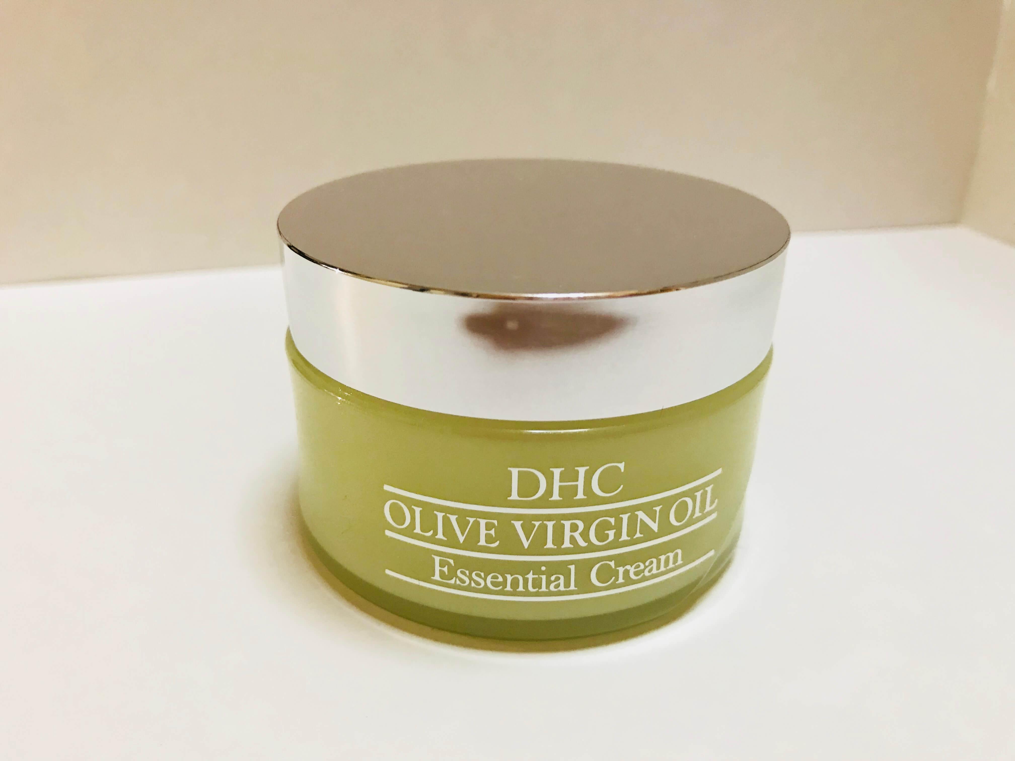 【レビューするよ!】DHC オリーブバージンオイル エッセンシャル クリーム