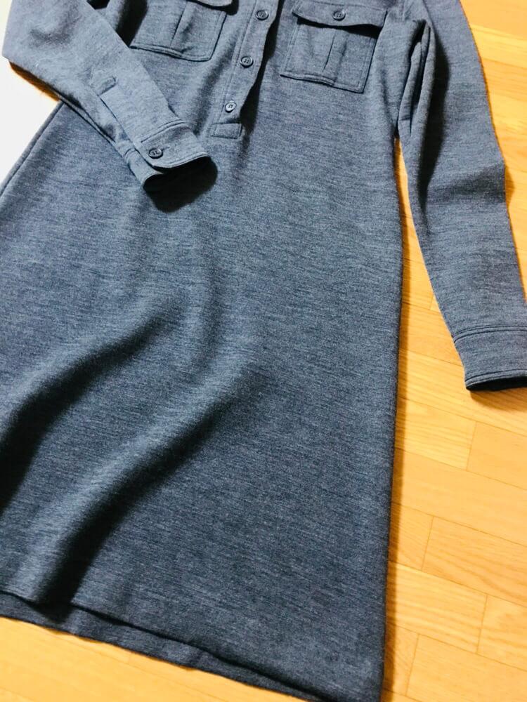 ワンピースの裾部分