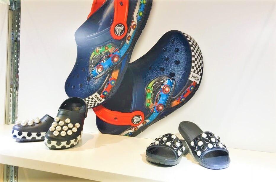 crocs(クロックス)展示会画像