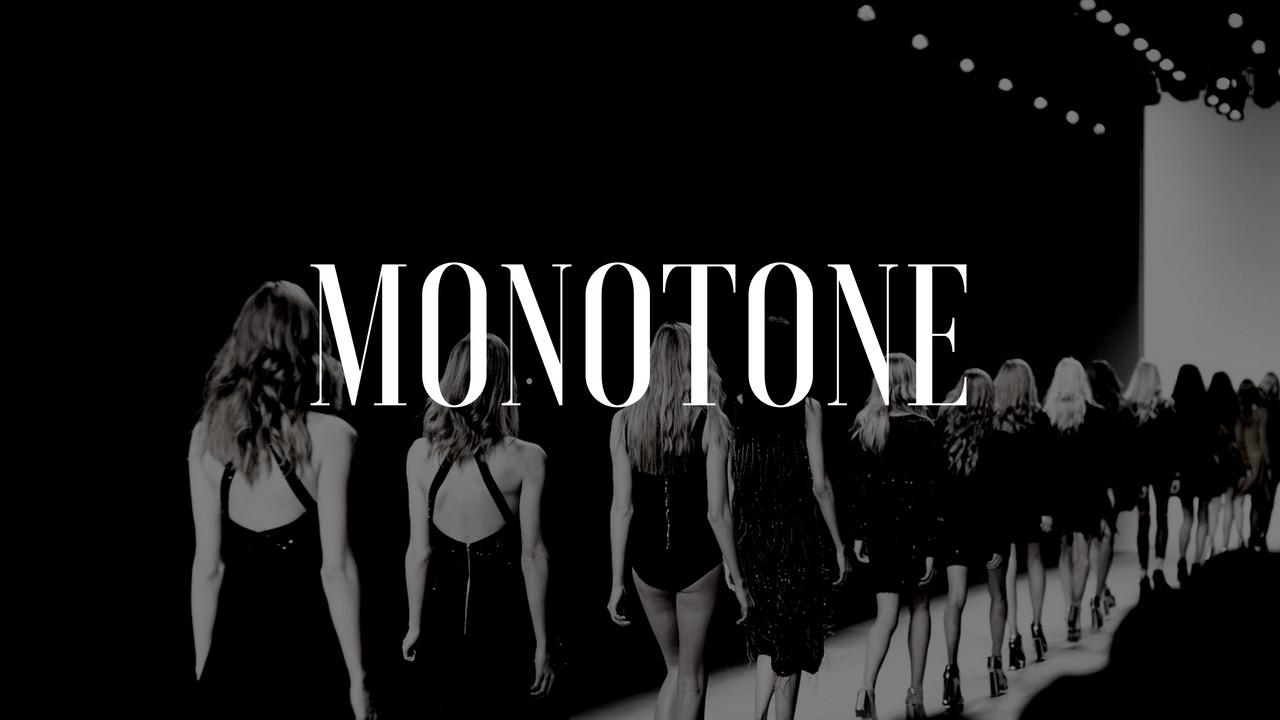 モノトーンファッションのアイキャッチ画像